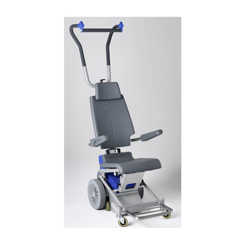 Sube escaleras con silla para exteriores