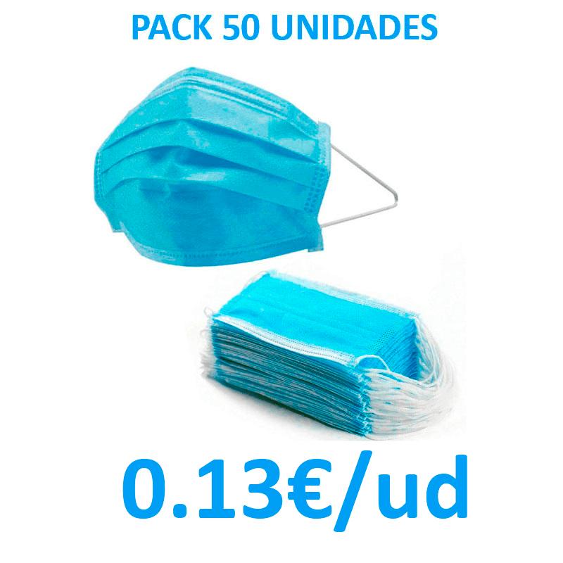 Pack Mascarillas Quirúrgicas desechables