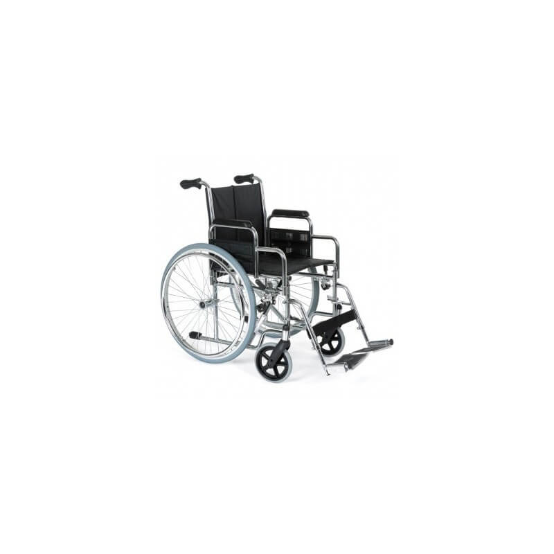 Silla 'Clasic 600' autopropulsable cromada