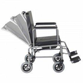 Silla de ruedas reclinable con inodoro - Ayudas dinámicas