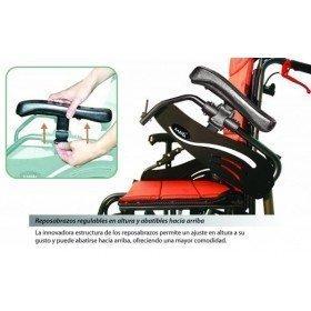 Silla de ruedas basculante de aluminio plegable 'Vip' - Ayudas dinámicas