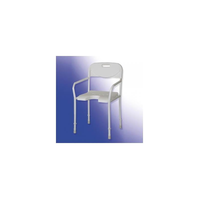 Silla de ducha plegable acuario for Sillas para ducha plegables