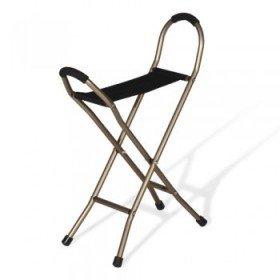 Bastón con asiento '4 patas' - Ayudas dinámicas