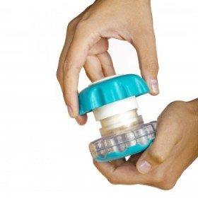 Pastillero triturador de pastillas 'Ergo Grip' - Ayudas dinámicas