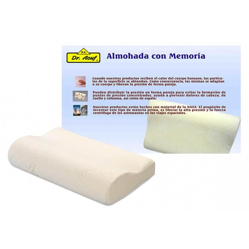 Almohada cervical de noche viscoelástica