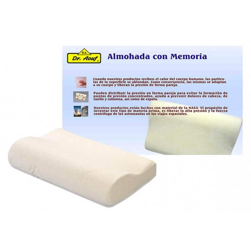 Almohada cervical de noche viscoelástica - Ortoespaña