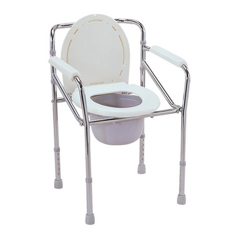 Silla wc plegable regulable en altura - Ortoespaña