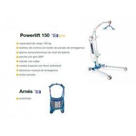 Grúa Powerlift 150 + Arnés - Tecnimoem