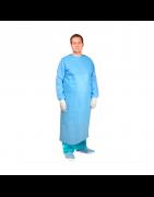 Batas quirúrgicas estériles