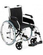 Sillas de ruedas plegables de acero