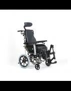 Sillas de ruedas reclinables