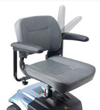 asiento giratorio scooter i-confort