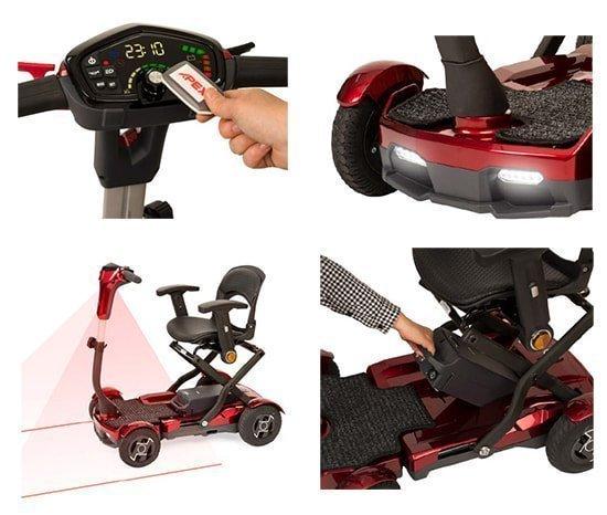 scooter plebale apex i-laser