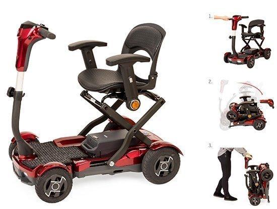 Scooter eléctrica plegable i-laser apex