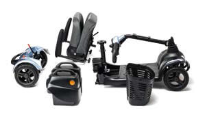 scooter I-nano desmontable