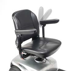 asiento scooter eléctrica i-tauro