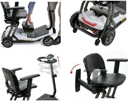 Scooter plegable i-luna apex