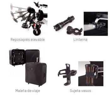 Accesorios silla eléctrica explorer