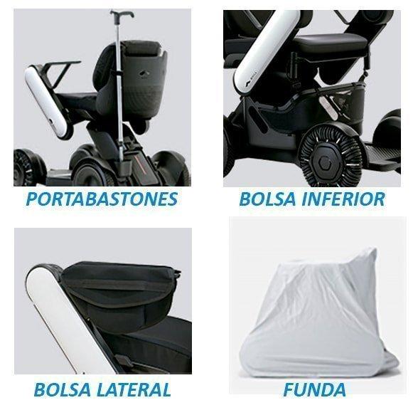 Accesorios silla eléctrica Whill Model C