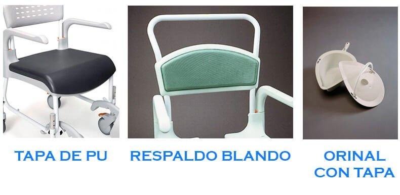 Accesorios silla clean