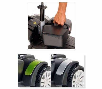 Baterías extraíbles scooter eclipse plus