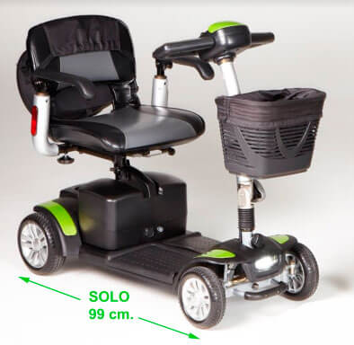 Scooter eléctrica eclipse plus tga