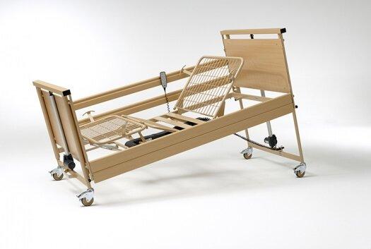 cama electrica con carro elevador alura