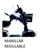 manillar regulable scooter electrica