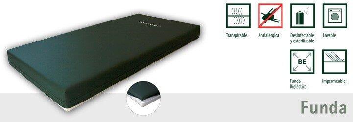 Funda impermeable colchon viscoelastico sanitifoam t30b