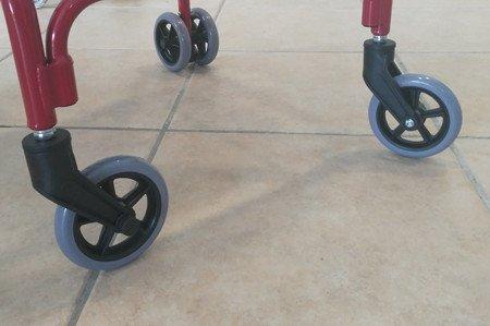 Andador ruedas giratorias
