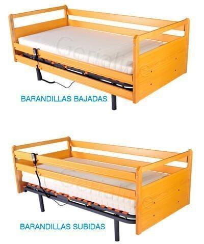 Kit de madera cama articulada electrica