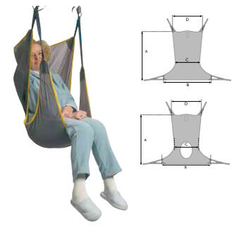 Arnés confort para grúa eléctrica