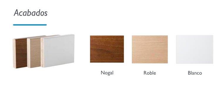 acabados cama articulada madera