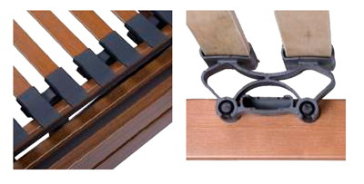 lamas de madera cama articulada