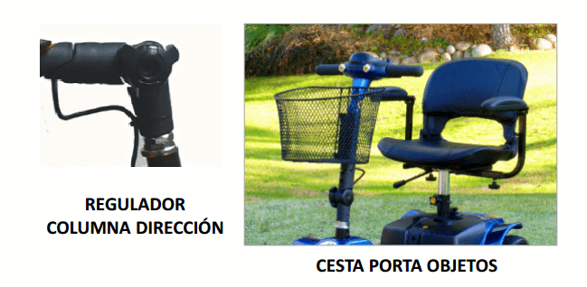 regulacion de direccion scooter electrica smart 3 ruedas libercar