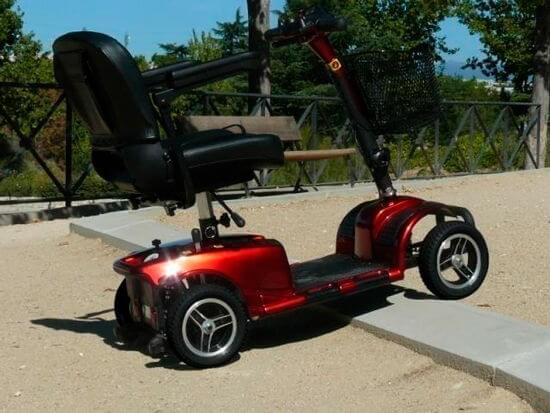 Scooter libercar urban 4 ruedas