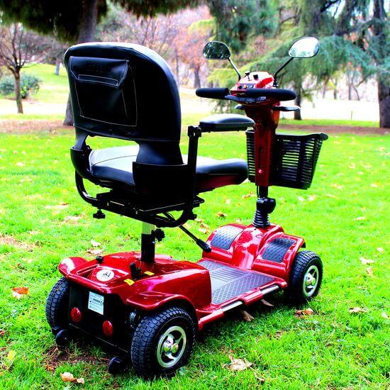 scooter eléctrica urban 4 ruedas
