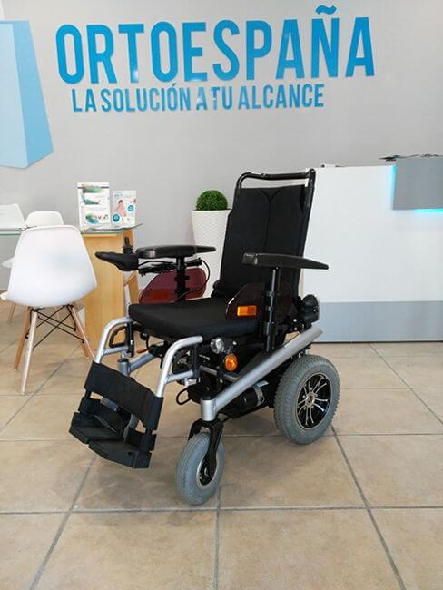 Alquilar silla de ruedas eléctrica en Córdoba