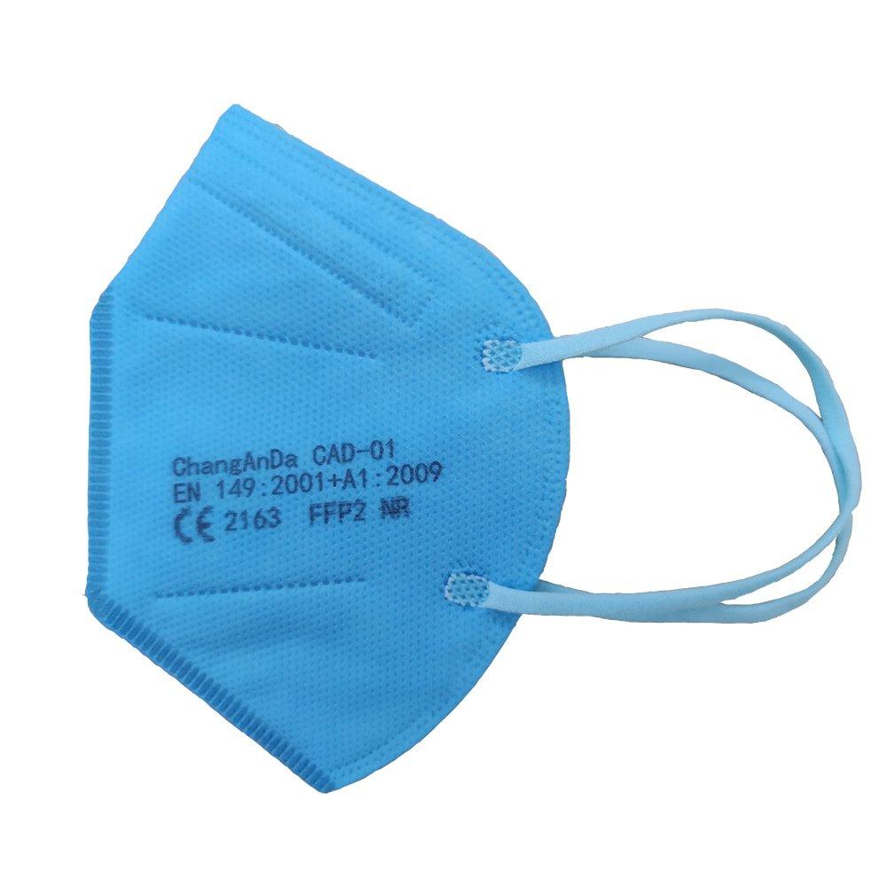 Mascarilla ffp2 infantil color azul