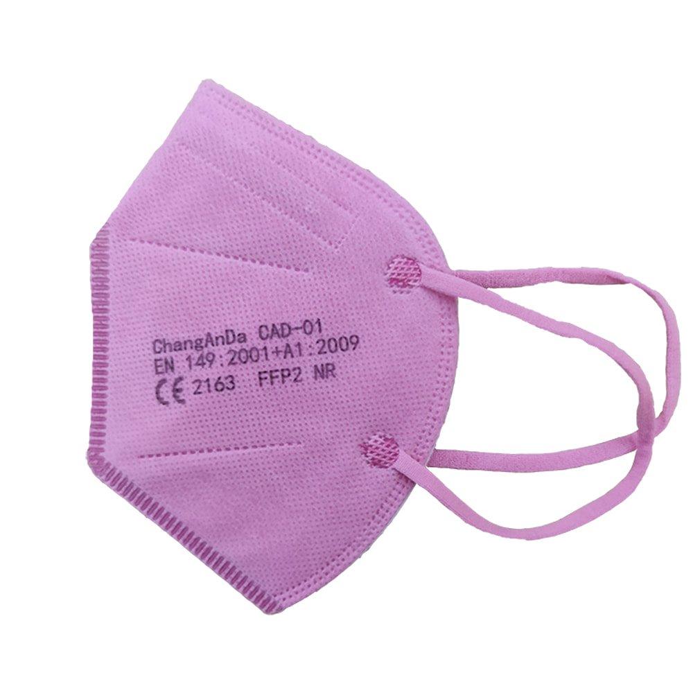 Mascarilla ffp2 infantil color rosa