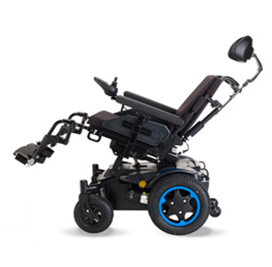 silla electrica quickie q200r con basculación eléctrica
