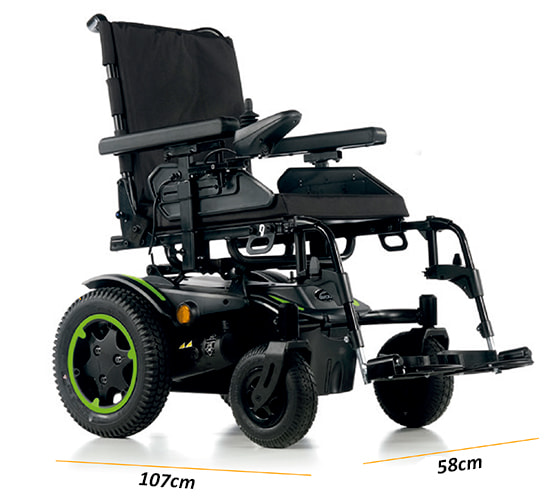 silla eléctrica Quickie Q200R