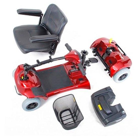 scooter eléctrico desmontable le mans teyder