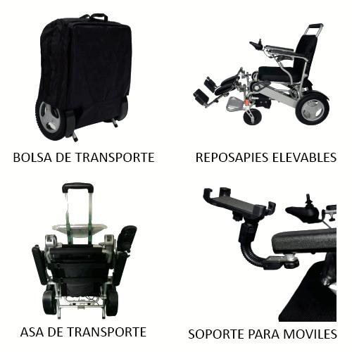 Accesorios silla electrica spa teyder