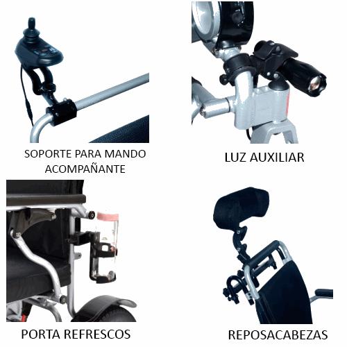 Accesorios silla plegable SPA 250