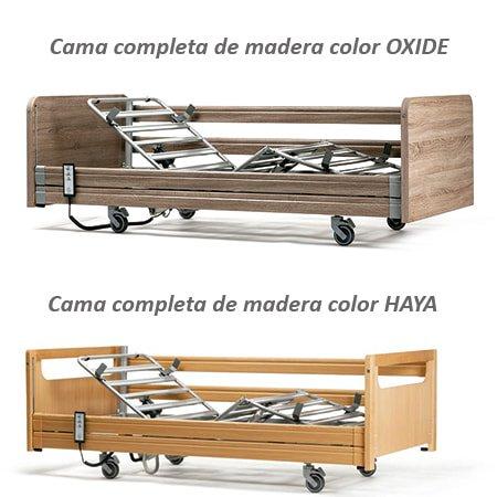 cama articulada de madera illico vermeiren