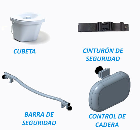 accesorios de seguridad silla pluo